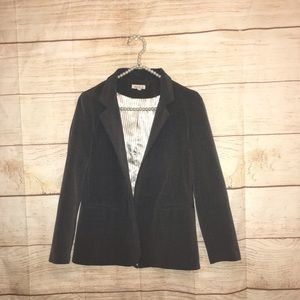 Silence and noise XS gray blazer jacket